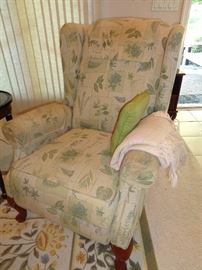 wing back chair … recliner???