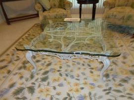 coffee table ... area rug