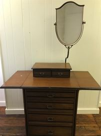 Vintage table top dresser