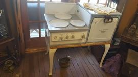 antique oven stove