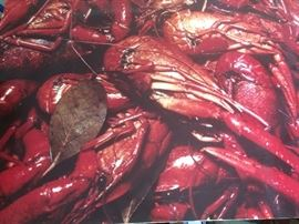 Crawfish wall art