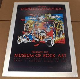 Museum of Rock Art Poster          https://ctbids.com/#!/description/share/29920