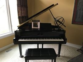 Shafer & Sons Baby Grand Piano