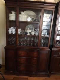 Large china cabinet Available