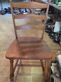 4 Heywood Wakefield Dining chairs. Available
