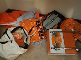 University of Tennessee Stadium Seats, Back Packs, Pocketbooks,  Totes,  Flip-Flops
