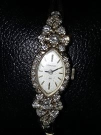 Diamond Watch by Hamilton