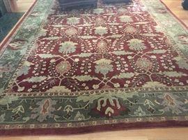 Pottery Barn 10'-14' rug