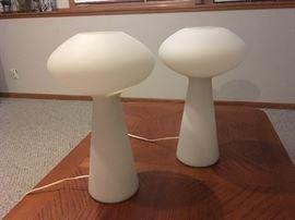 Lisa Johansson-Pape mushroom lamps