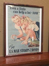 Large propaganda poster