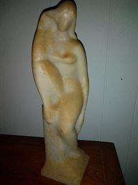 Mid Century Sandstone Sculpture