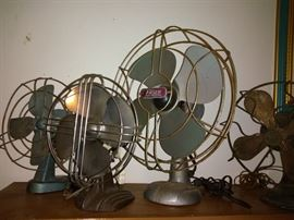 Antique Small Fans