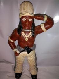 Vintage Indian Cast Iron Bank