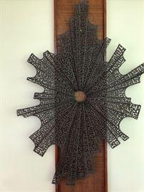 Large, very cool, metal art sculpture