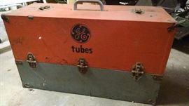 Vintage GE tube box