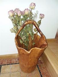 Hand Made Tree Basket