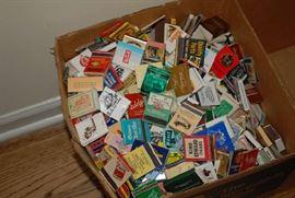 Hundreds of Match Books