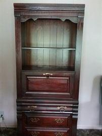 Very Nice Secretary w/ Glass Shelf