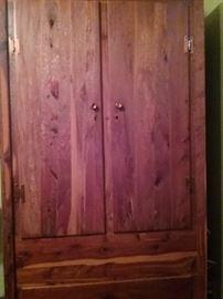 One of Two Cedar Wardrobes