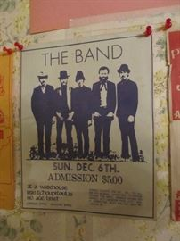 Original Sun Dec 6, 1970 Paper Broadside  The Warehouse New Orleans. The Band. The Warehouse opened Jan 30, 1970.