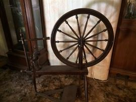 authentic Spinning Wheel