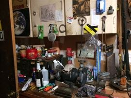 more tools, detergents, agents than you can see...