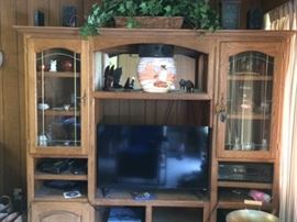 all entertainment equipment has been sold...only entertainment center remains for sale. Will be donated Monday 7/16 if not sold today