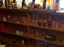 cut crystal, pressed glass, cut glass, collectibles