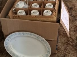 Japanese fine china over 40 pcs 8 place setting all in excellent condition. Will be donated if not sold today