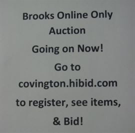 It's not to late to get in on the bidding action! Go to the website above & register to bid! THANKS!!
