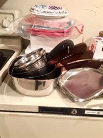 Wedding gift cookware 1958