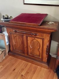 Lectern / dictionary holder c 1870