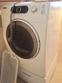 Samsung pedestal electric dryer