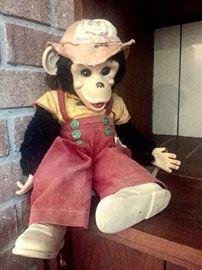 Howdy doody zip chimp