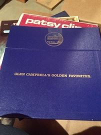 3 boxes vintage records
