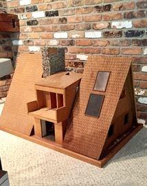 Md century modern custom made doll house!