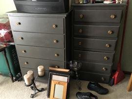 painted vintage dressers