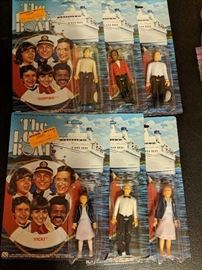 The Love Boat complete set of (6) 3 3/4 action figures-Mint in Package