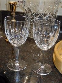 Waterford glasses w/box