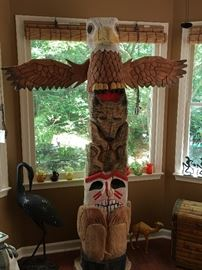 Totem Pole - Chainsaw Art?