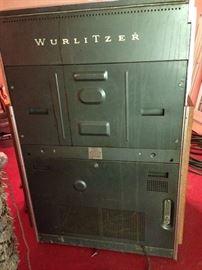 Back of Wurlitzer Jukebox