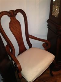 Host chair for the dining room table