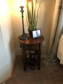 Pottery Barn bedside table or occasional table.  There are two of these
