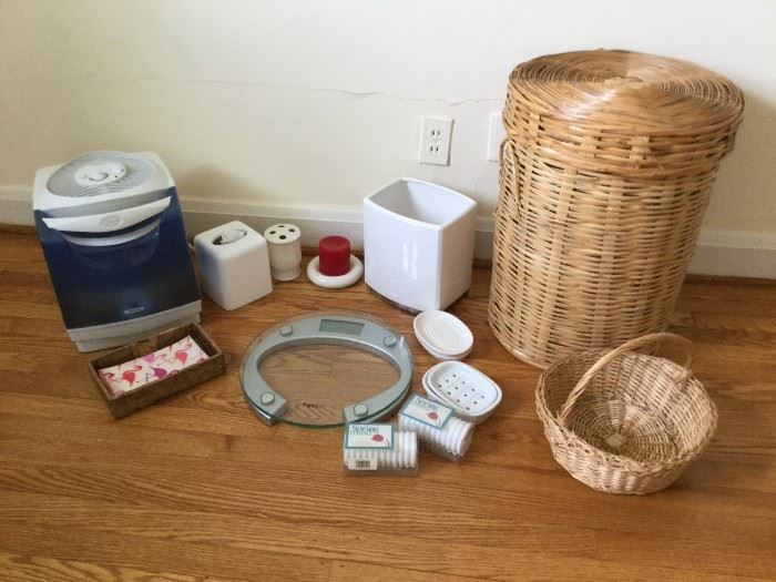 Bathroom Lot featuring Humidifer,         http://www.ctonlineauctions.com/detail.asp?id=736272