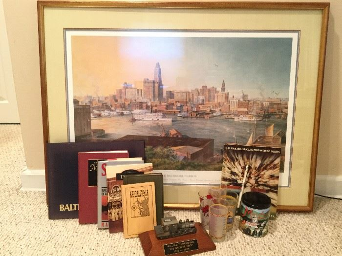 Maryland Collection: Books, Art, Barware        http://www.ctonlineauctions.com/detail.asp?id=736304