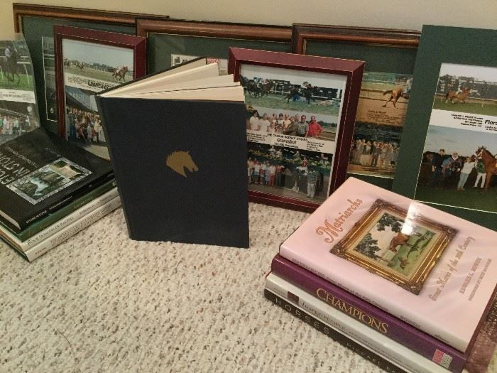 Horse Racing: Books & Photos         http://www.ctonlineauctions.com/detail.asp?id=736451