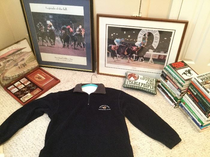 Horses: Betting Advice, Art, Game      http://www.ctonlineauctions.com/detail.asp?id=736453
