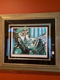 A very large and impressive Picasso lithograph.