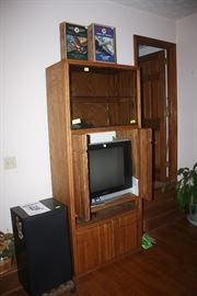 Entertainment cabinet, speakers
