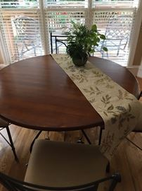 Charleston Forge table and chairs